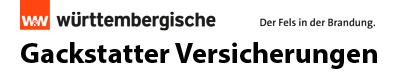 Gackstatter Versicherungen Logo